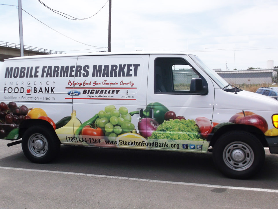 Mobile Farmers Market van
