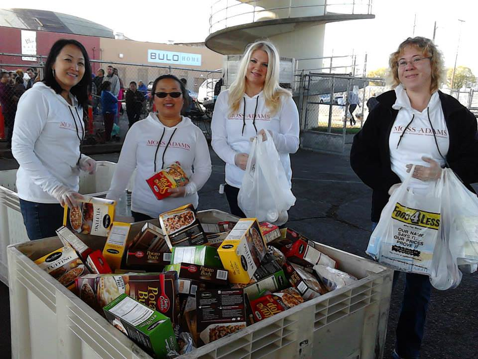 Volunteer for the San Joaquin Emergency Food Bank